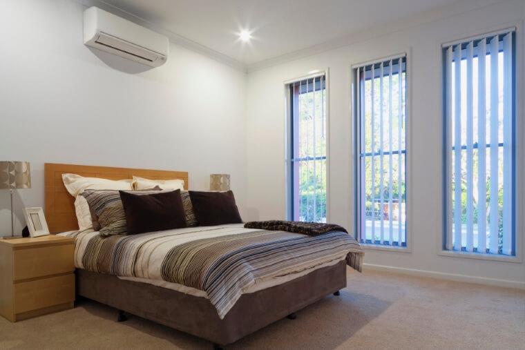 airco voor de slaapkamer